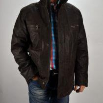 3431 férfi hasított bőrdzseki Bőrkabát boltBőrkabát bolt