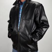 Praktikus, koptatott kecskebőr kabát, bőrkabát, bőrkabát bolt, bőrkabátbolt