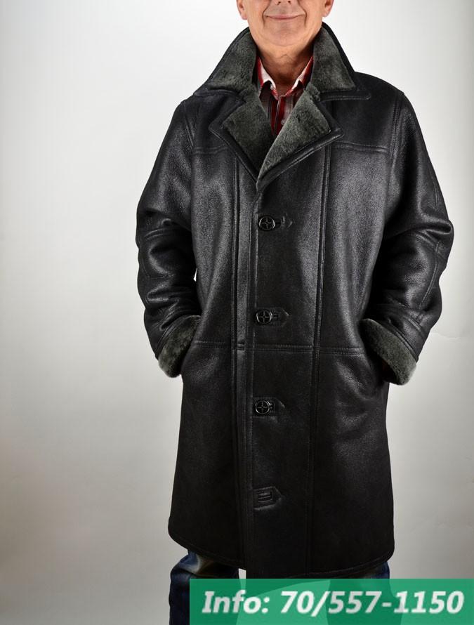 5f767eb6d3 ... Hosszított fazonú férfi irhakabát, irhabunda, bőrkabát, bőrkabát bolt  ...