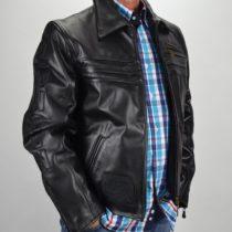 Kényelmes, extravagáns, válogatott marhabőrből készült bőrdzseki, bőrkabát, bőrkabát bolt, bőrkabát bolt
