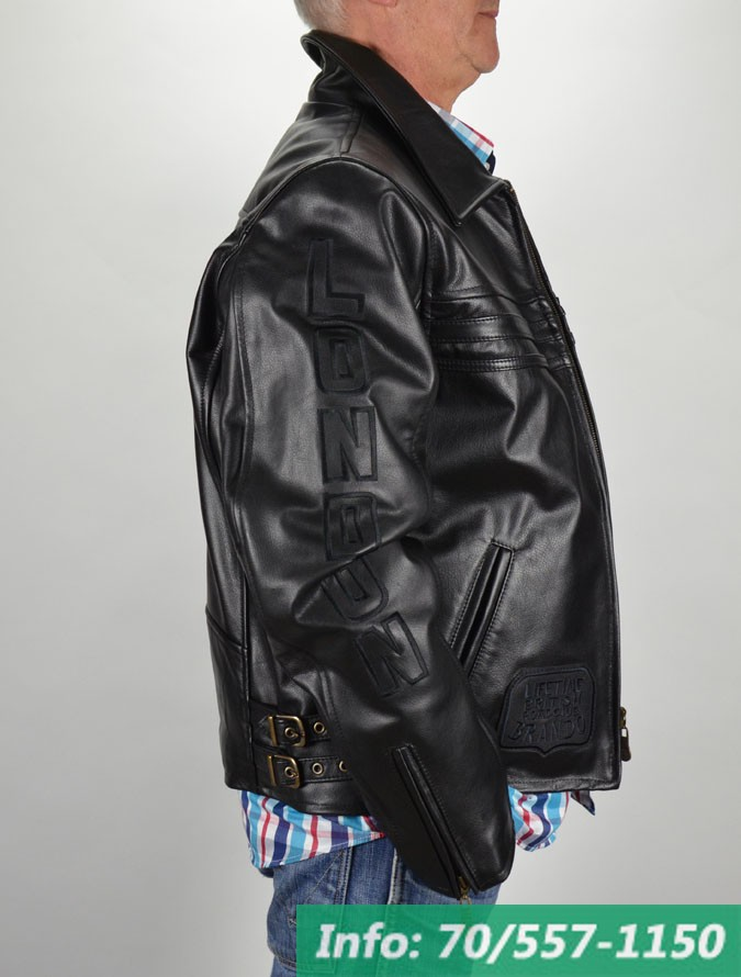 London Brando RONALDO bőrdzseki - Bőrkabát boltBőrkabát bolt 83a5d5c31a