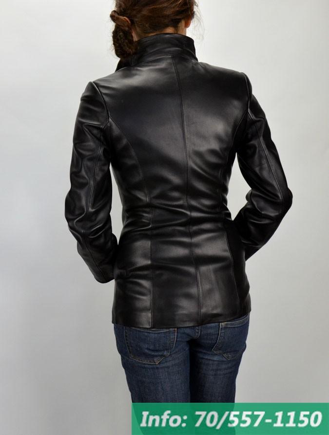 46a2afdce4 ... Elizabeth, fekete, karcsúsított női bőrkabát, bőrkabátbolt