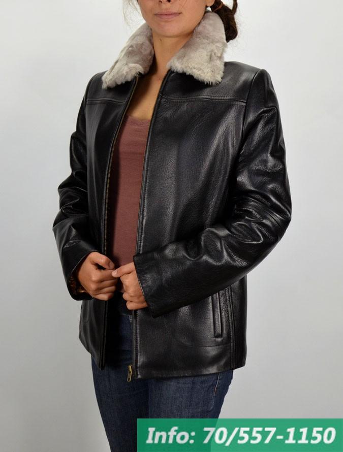 XENA női szőrmegalléros bőrkabát - Bőrkabát boltBőrkabát bolt 75339c8a39