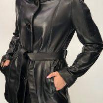 W14 női kapucnis bőrdzseki - Bőrkabát boltBőrkabát bolt bb3a2f7d0d