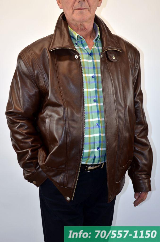 29fa09ad6a BRUNO férfi bőrdzseki barna - Bőrkabát boltBőrkabát bolt