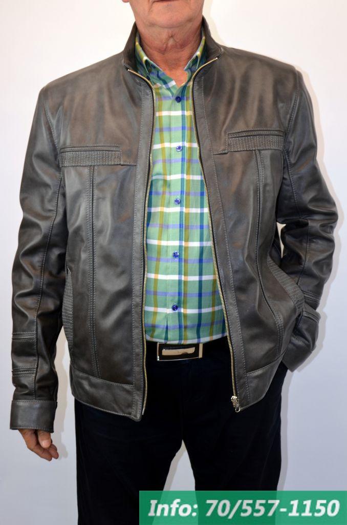 f0c6f8ef09 F 1 férfi bőrdzseki szürke - Bőrkabát boltBőrkabát bolt