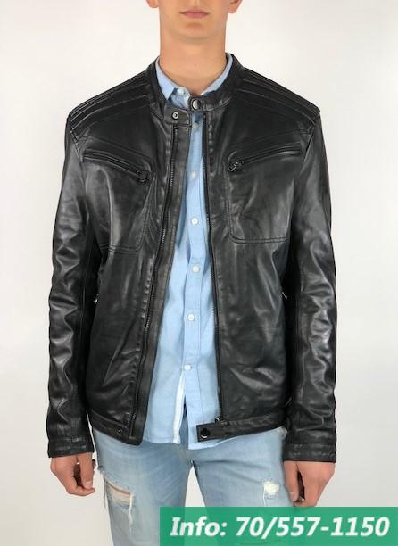 2d0cb842cb London Brando JAGGER férfi bőrdzseki - Bőrkabát boltBőrkabát bolt