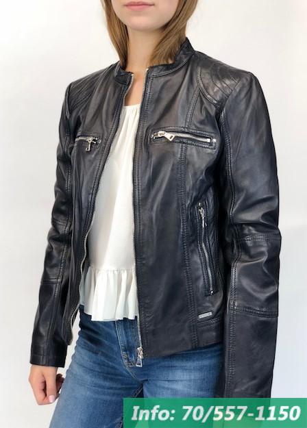 MELODY rövid karcsúsított női bőrdzseki - Bőrkabát boltBőrkabát bolt a186cff35a
