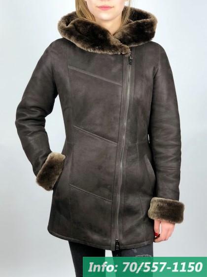 SOFIA női irhakabát barna - Bőrkabát boltBőrkabát bolt 27d68bc1e0